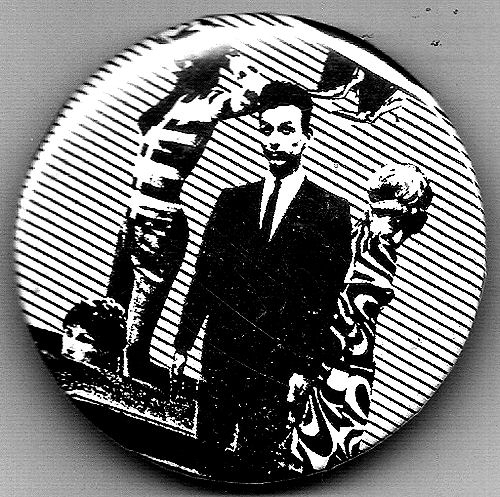 New Wave Punk lapel pin