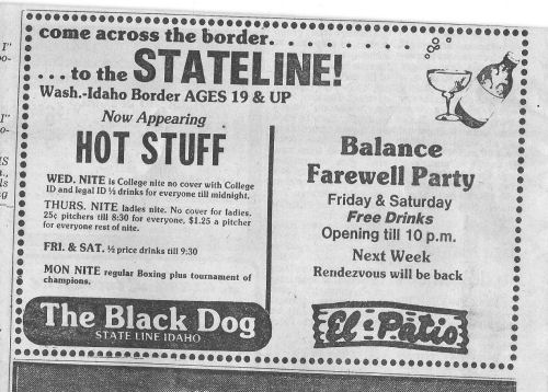The Black Dog Stateline
