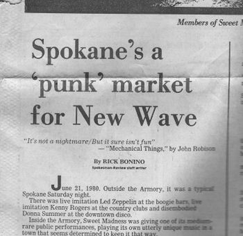 Spokane Punk New Wave