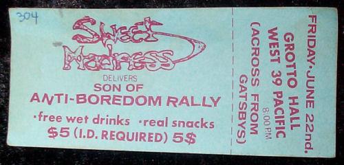Anti-Boredom Rally