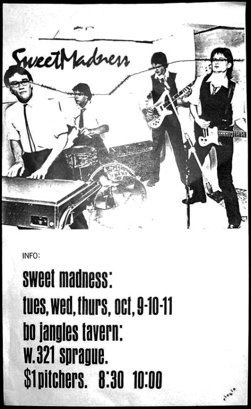Sweet Madness at Bojangles Tavern