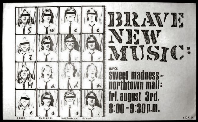 Sweet Madness - Brave New Music