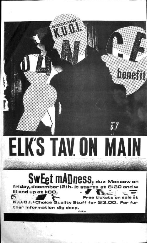 Sweet Madness at Elk's Tavern
