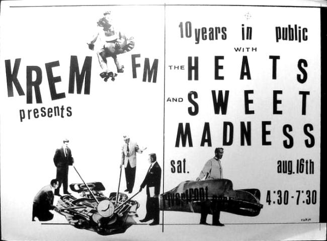 KREM presents the Heats with Sweet Madness
