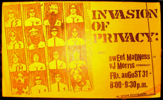 Sweet Madness - Invasion of Privacy