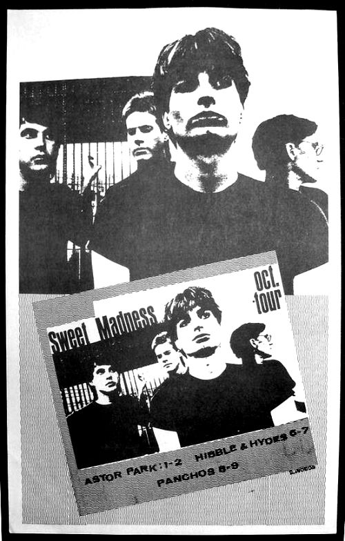Sweet Madness Tour Poster